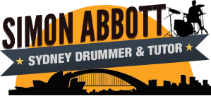 Simon Abbott - Sydney Drummer and Tutor